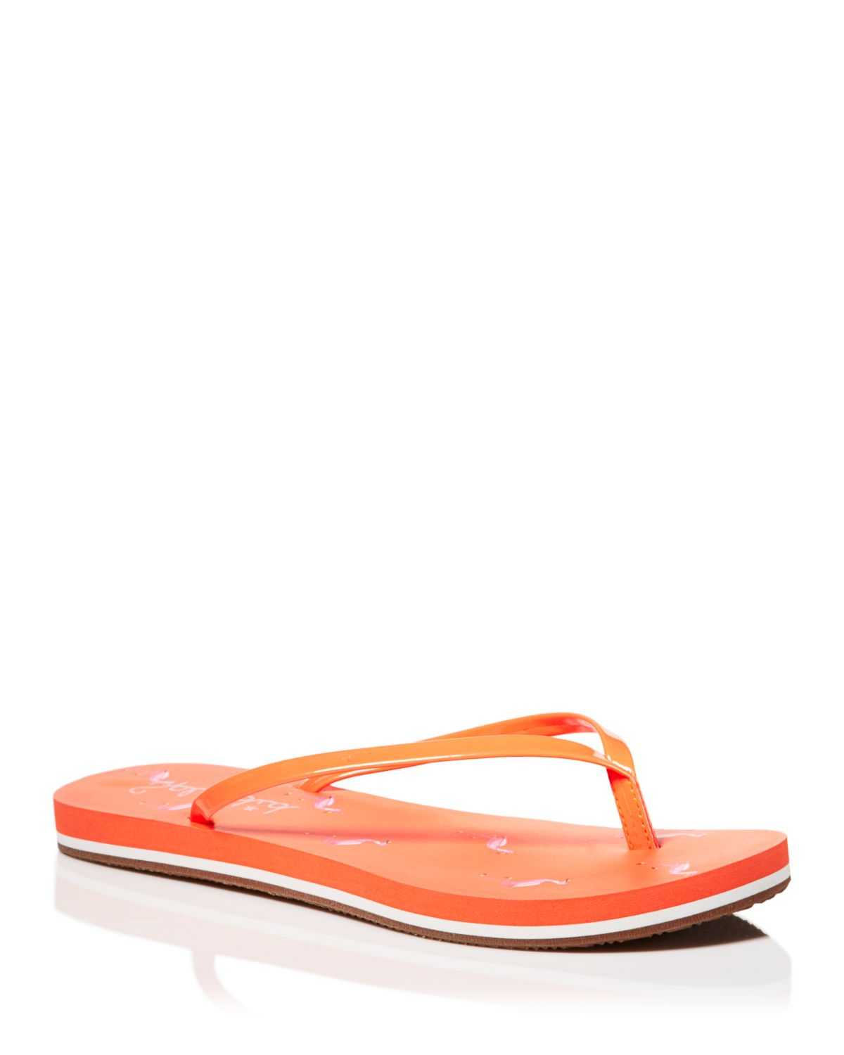 8e3548c6f72 Lyst - Splendid Flip Flop Sandals - Firefly Flamingo in Orange