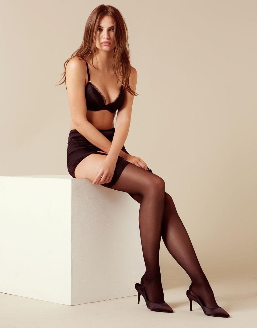 1d4321b497 Agent Provocateur - Felinda Fifties Style Suspender Black - Lyst. View  fullscreen