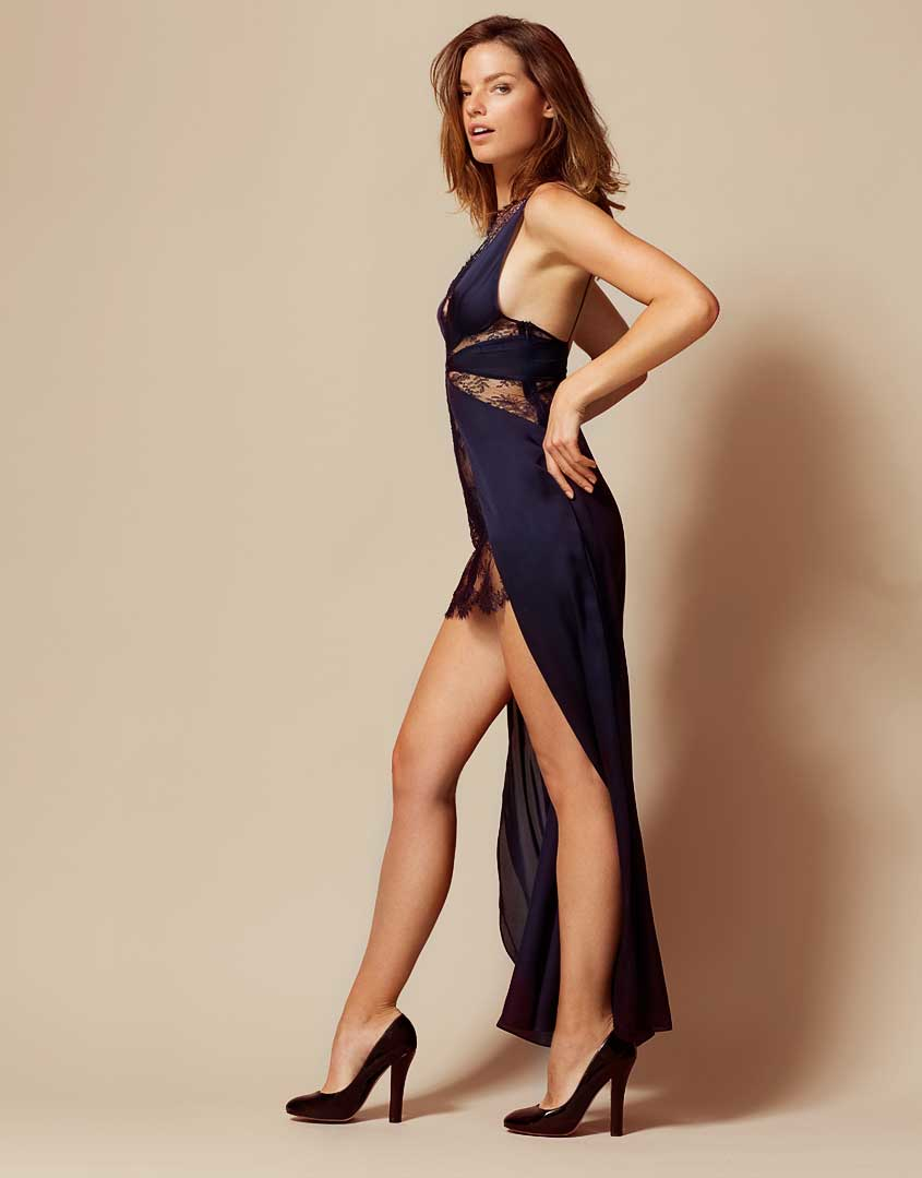 Lyst - Agent Provocateur Justine Dress Navy in Blue 0badce80c