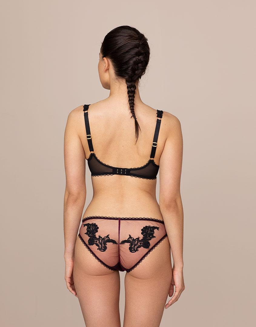 0f91244496aa3 Lyst - Agent Provocateur Lianne Brief Burgundy