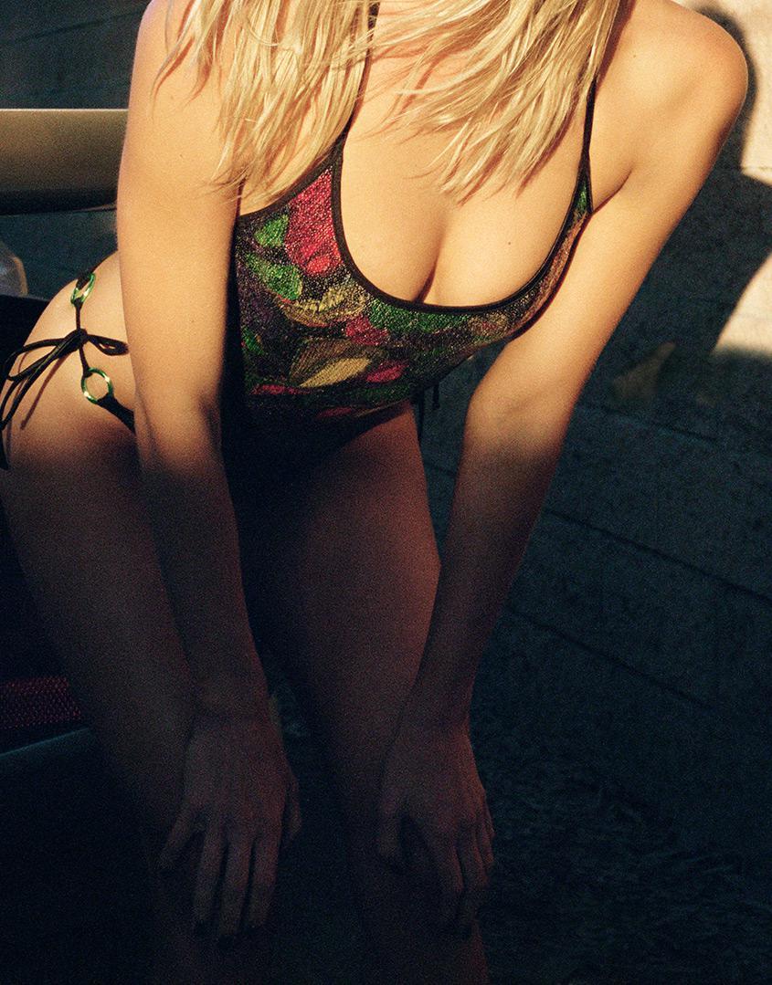 a8a676c11a Lyst - Agent Provocateur Margaritah Swimsuit Multi