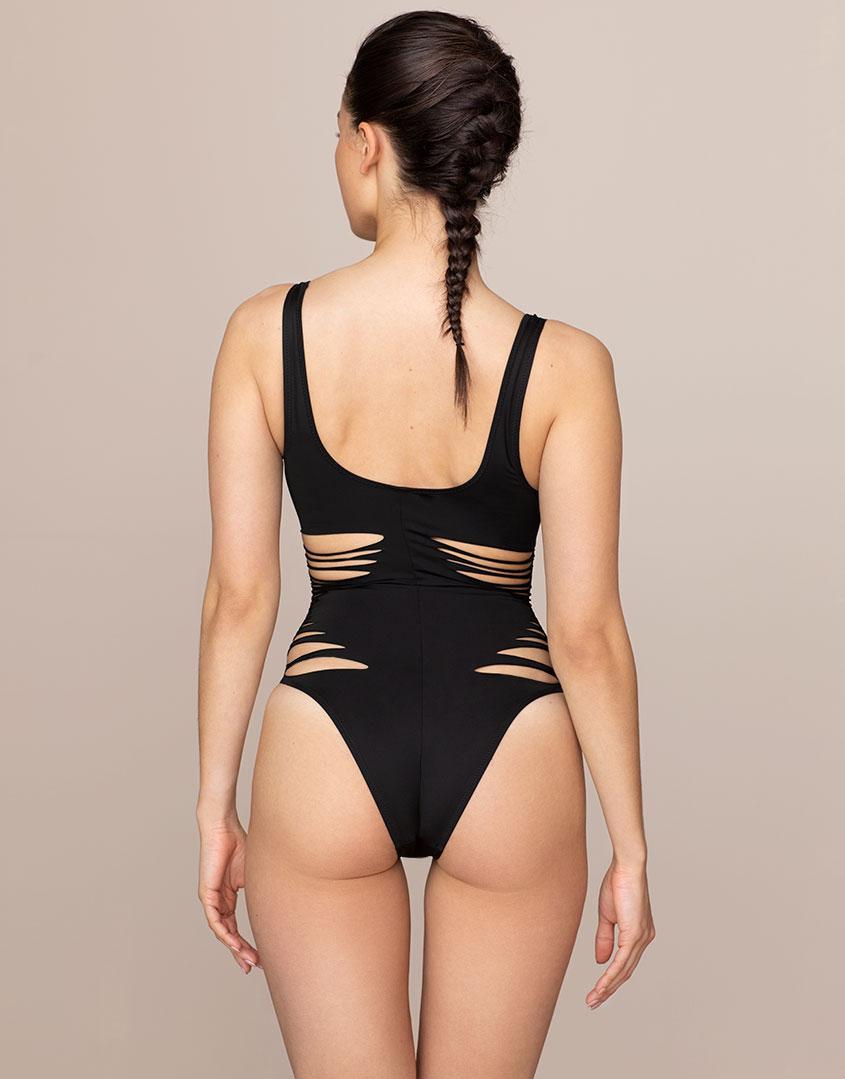 Lyst - Agent Provocateur Dakotta Swimsuit Black in Black 85be4b41f
