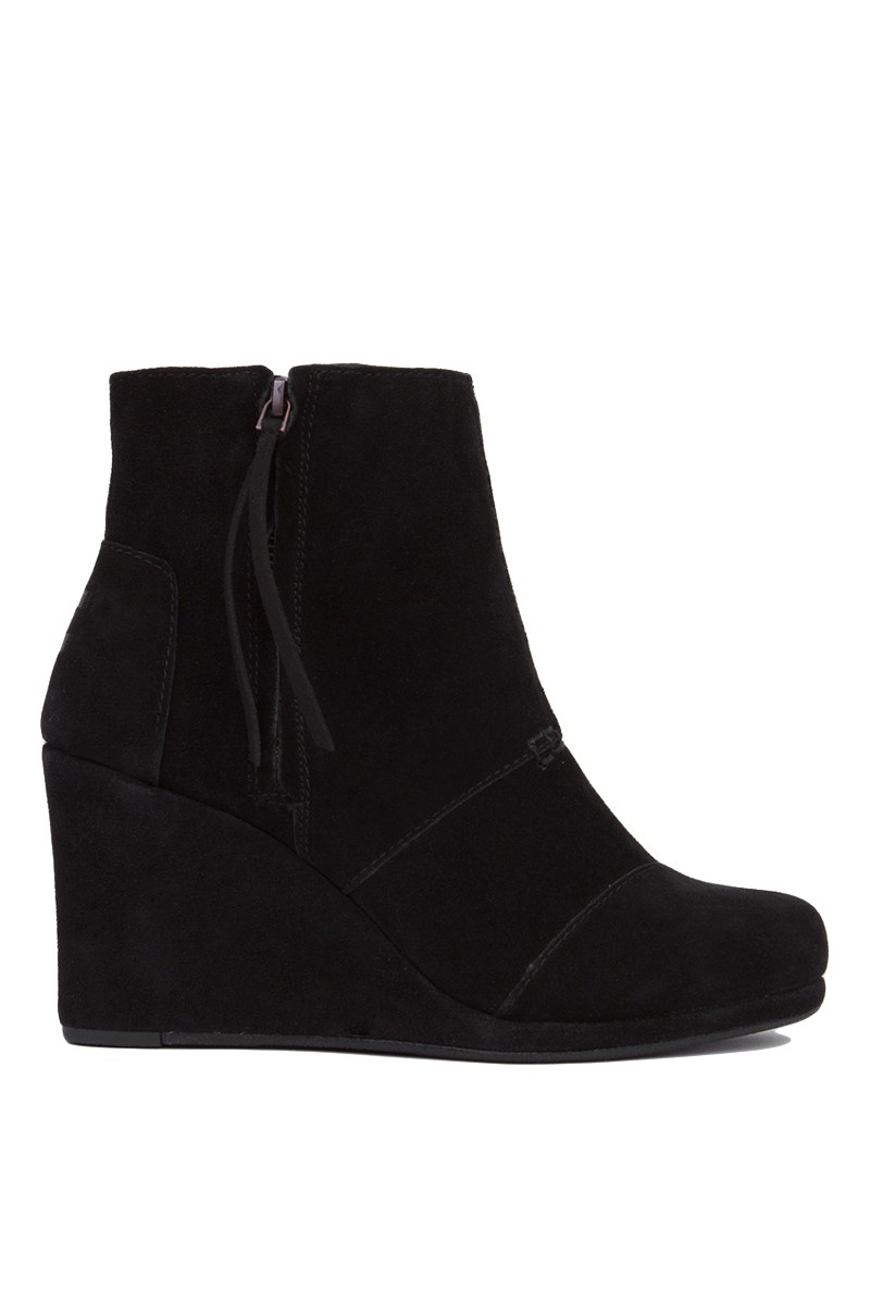Shop black suede wedge boots at Neiman Marcus, where you will find free shipping on the latest in fashion from top designers.