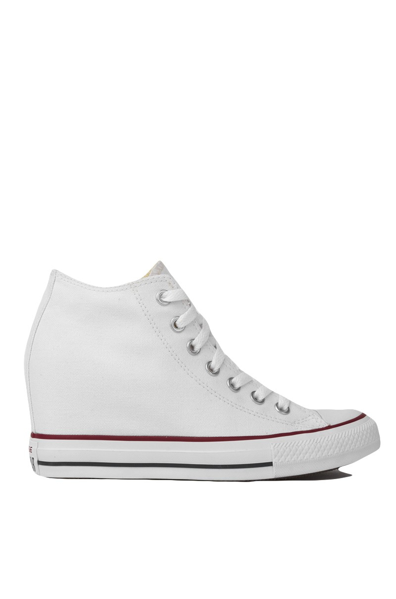 converse chuck all mid top sneaker wedge