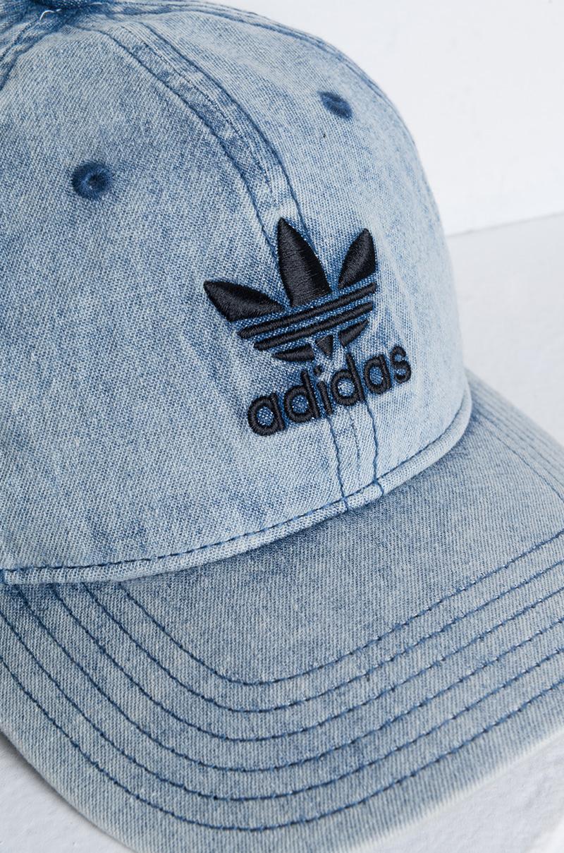 adidas Originals Relaxed Denim Baseball Hat in Blue for Men - Lyst e0e735f05977