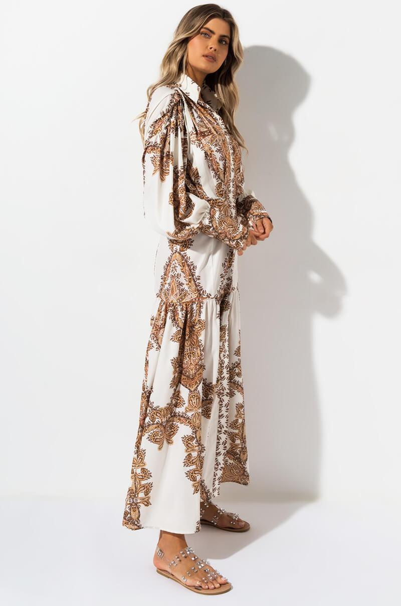 cfe0bf20d93 ... I m Just Sayin Paisley Maxi Dress - Lyst. View fullscreen