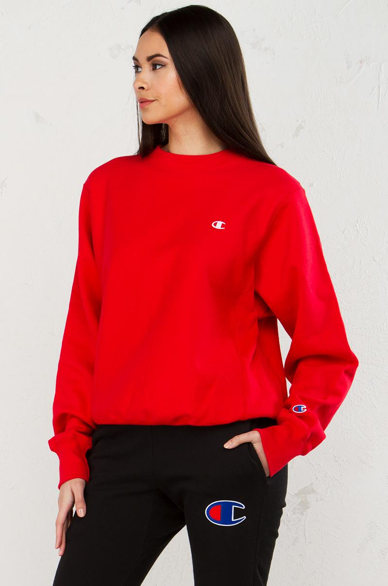 excellent red sweatshirt outfits 17