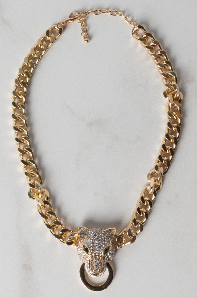 9f78f1b3305f3 Women's Metallic Tropicalia Necklace
