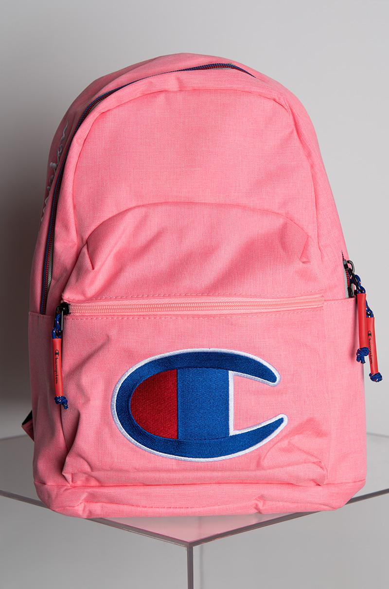 Champion Mini Supercize Pink Backpack in Pink - Save 12% - Lyst 8950f29560c37