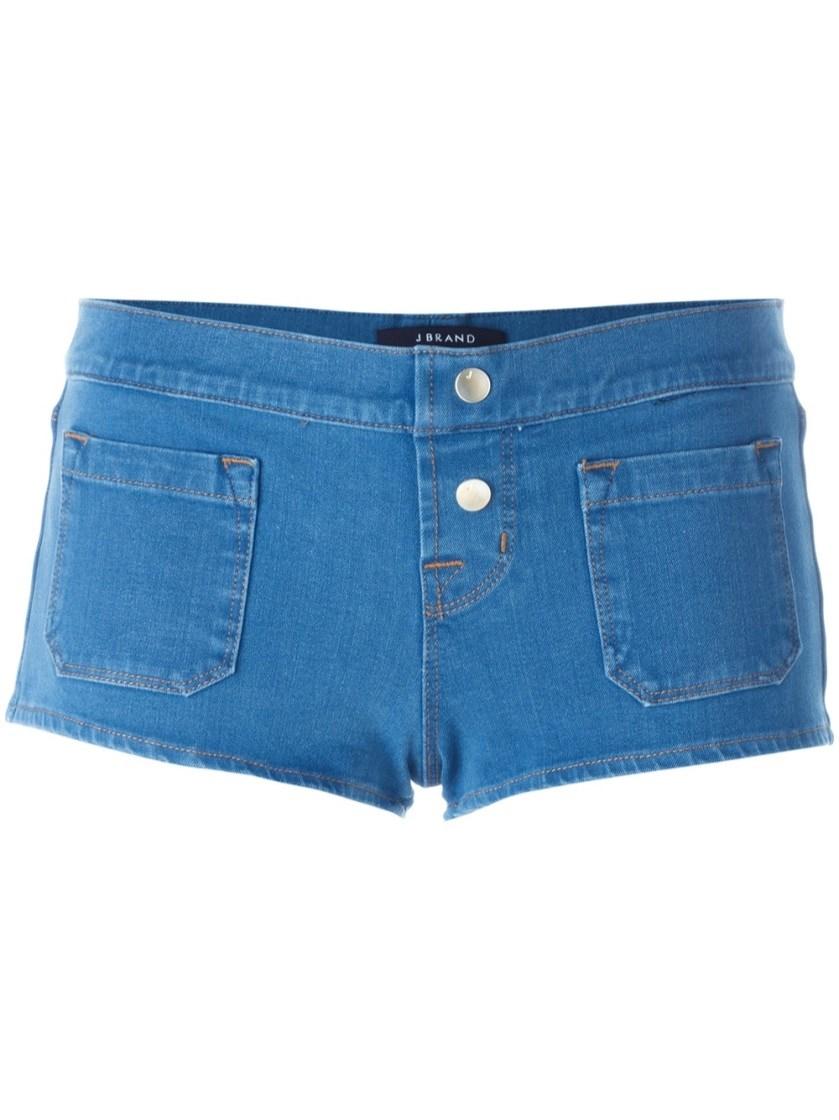 denim micro shorts - photo #10
