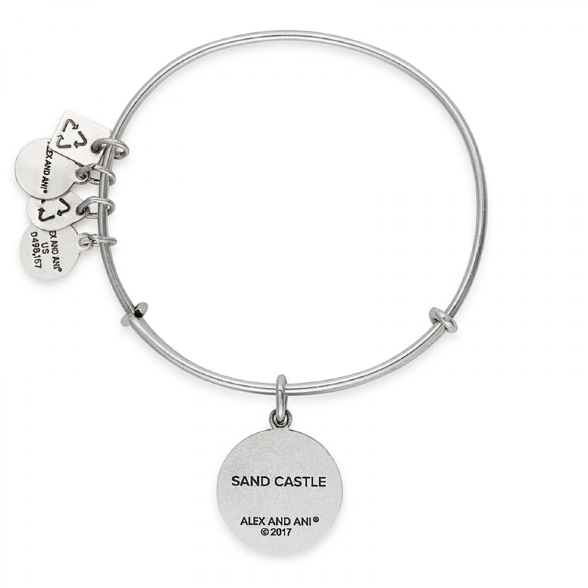 Alex And Ani Metallic Sand Castle Charm Bangle Sos Children S Villages Lyst View Fullscreen