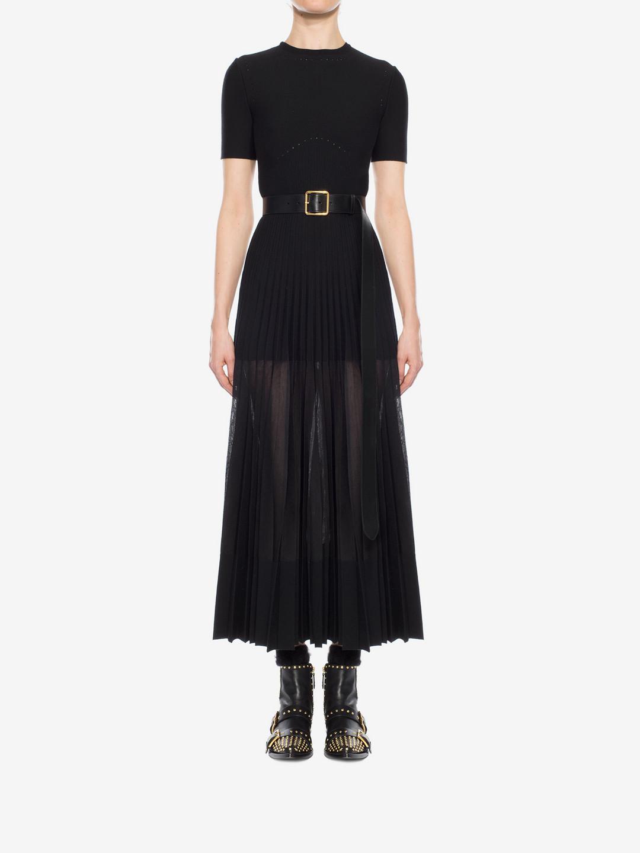 Lyst - Alexander Mcqueen Long Dress in Black