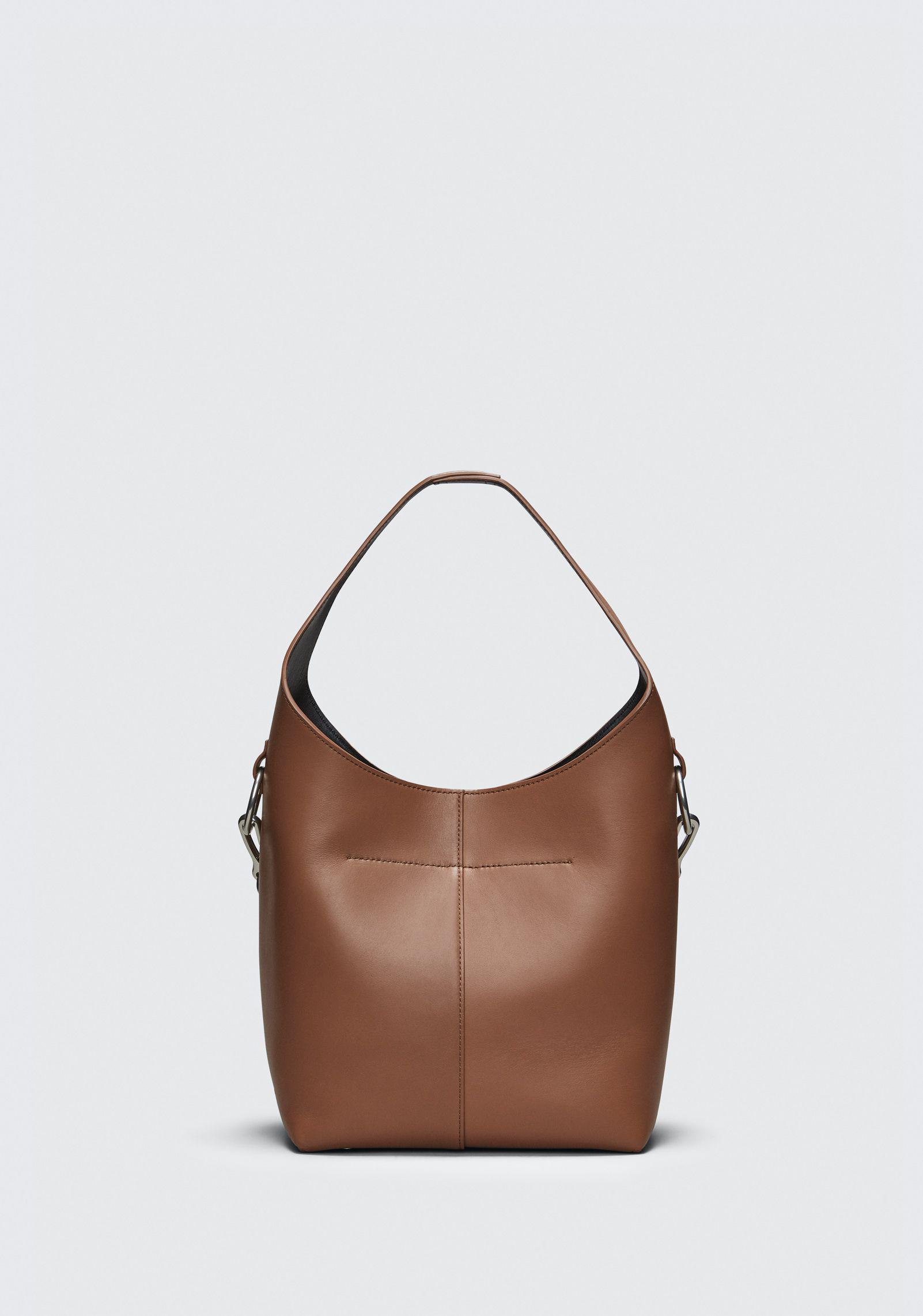 Genesis Mini Hobo Bag in Washed Denim Calfskin Alexander Wang L7tNC0d