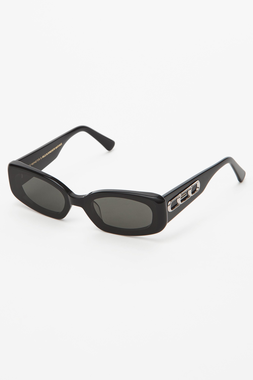 6210d02ece5a Lyst - Alexander Wang Ceo Sunglasses in Black