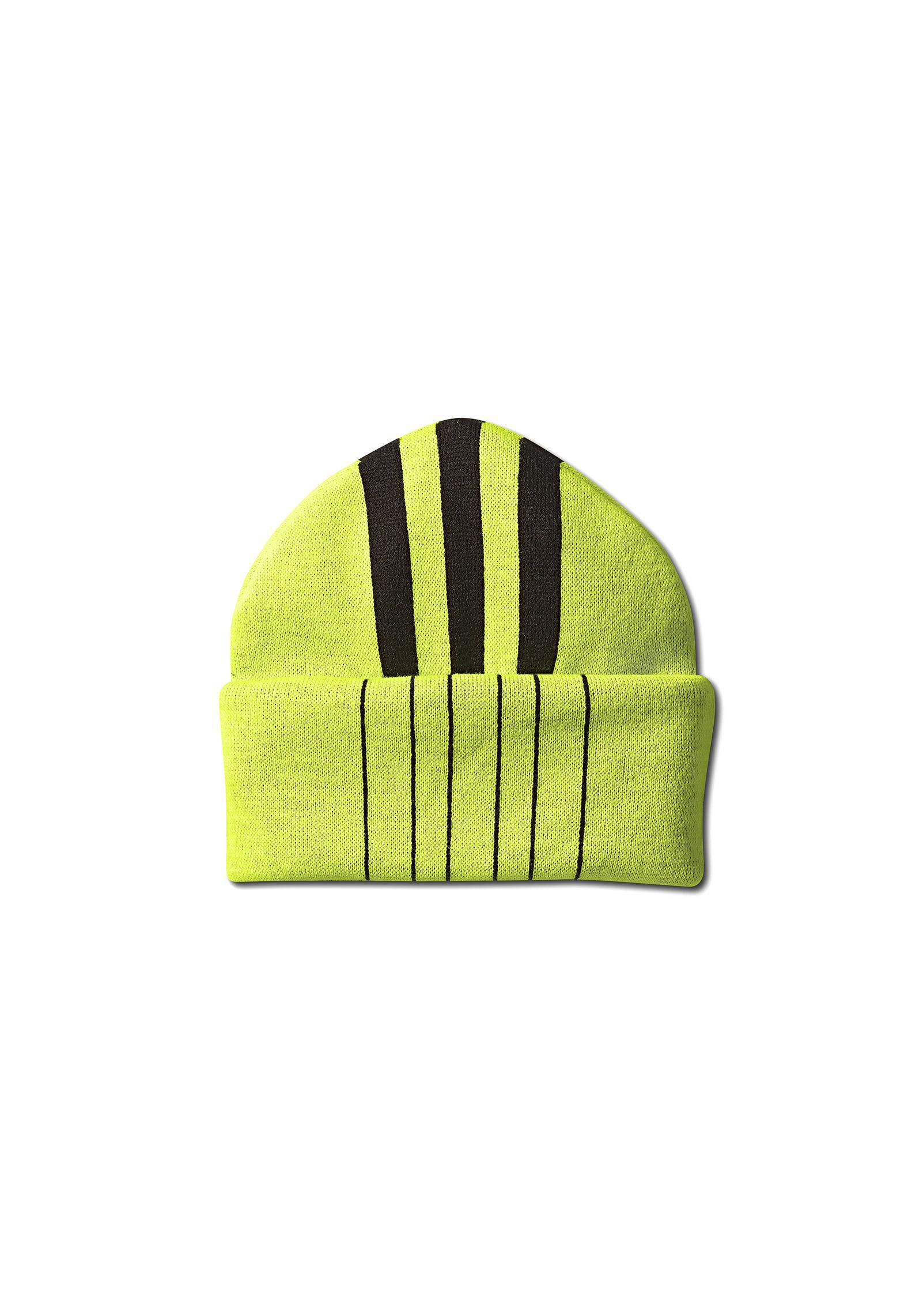 Lyst - Alexander Wang Adidas Originals By Aw Mask Beanie in Yellow ... 1a18fa86c5cf