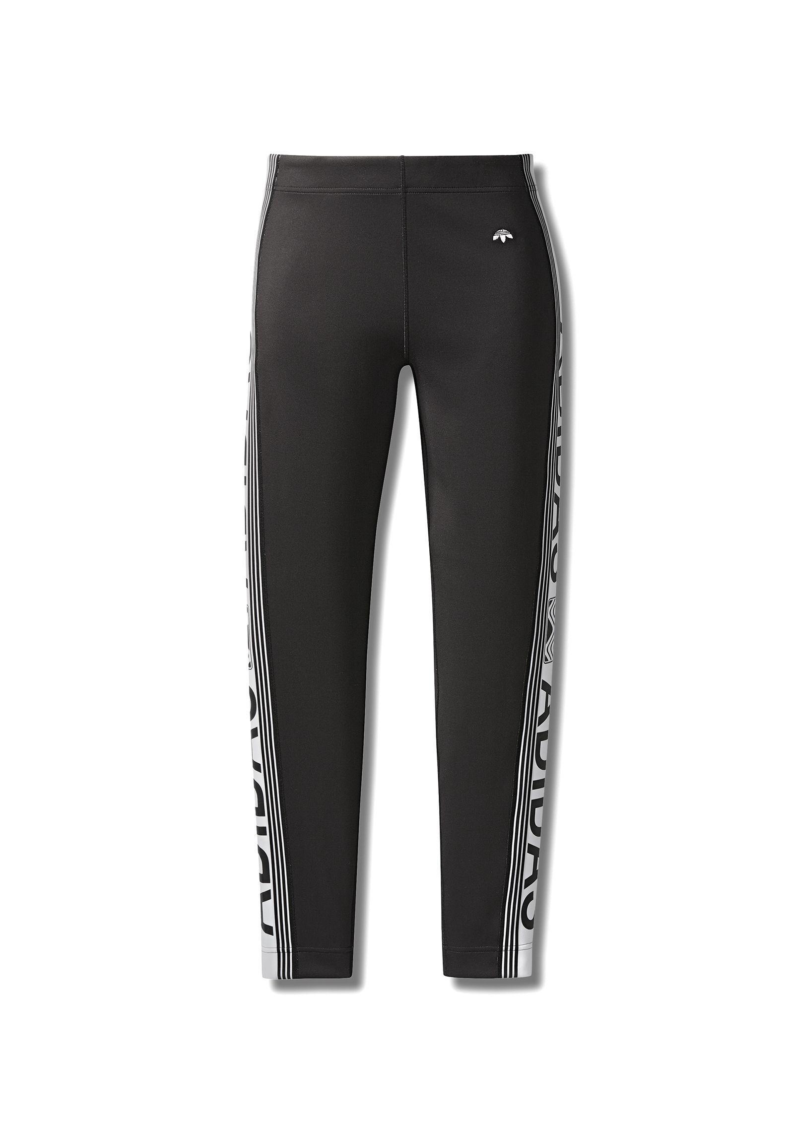 Adidas Black Originals In Leggings Aw By Wang Cycling Lyst Alexander q4w7qO