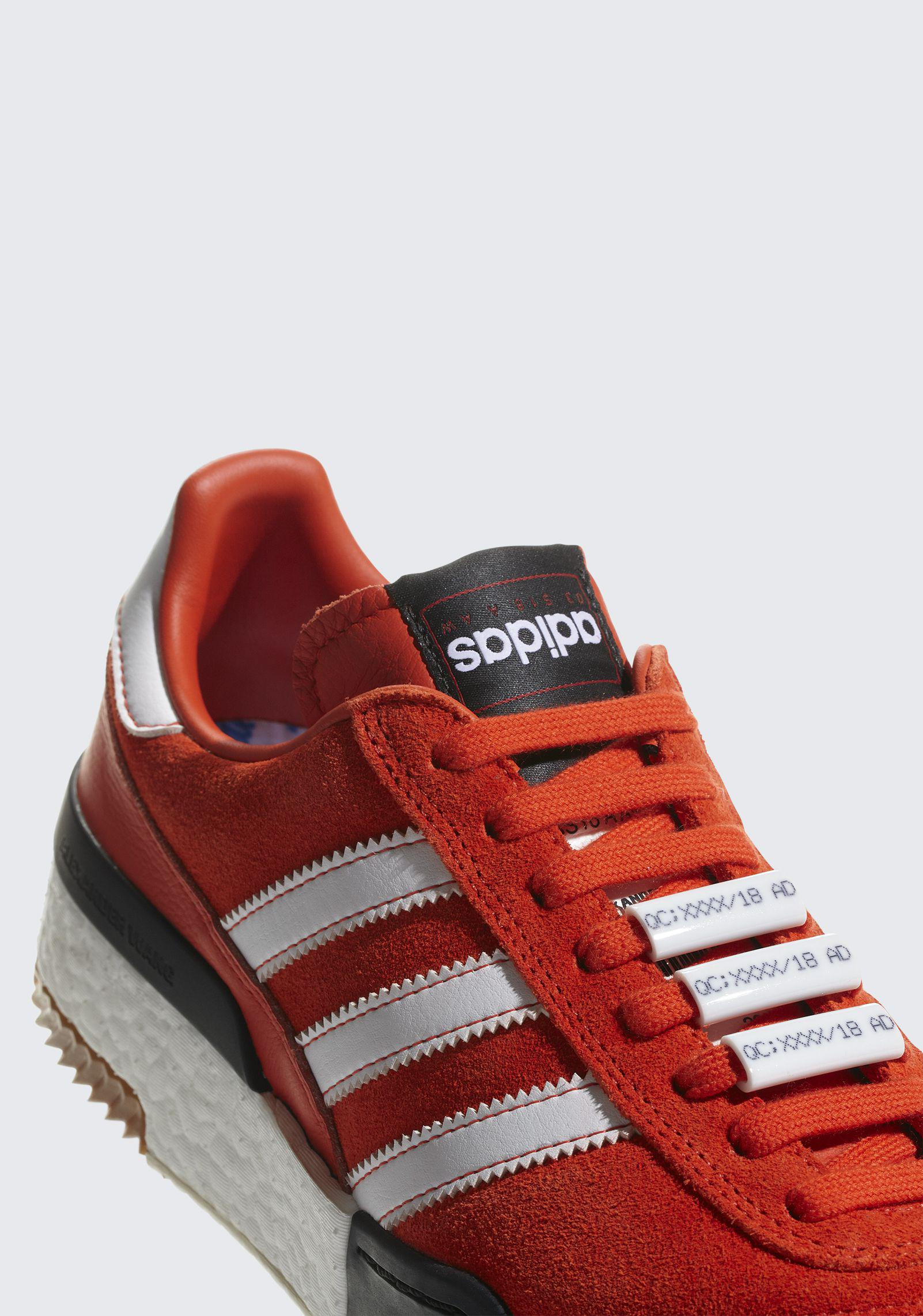 a57cb9cde5dd Alexander Wang Adidas Originals By Aw Bball Soccer Shoes in Red - Lyst