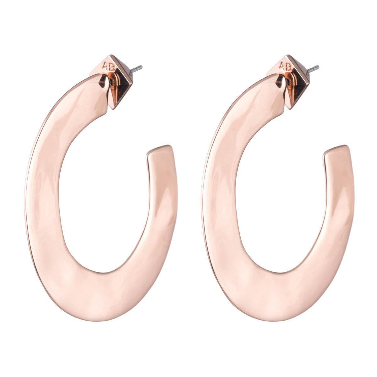 Alexis Bittar Enlarged Liquid Metal Hoop Earring VsGSNIUCzZ