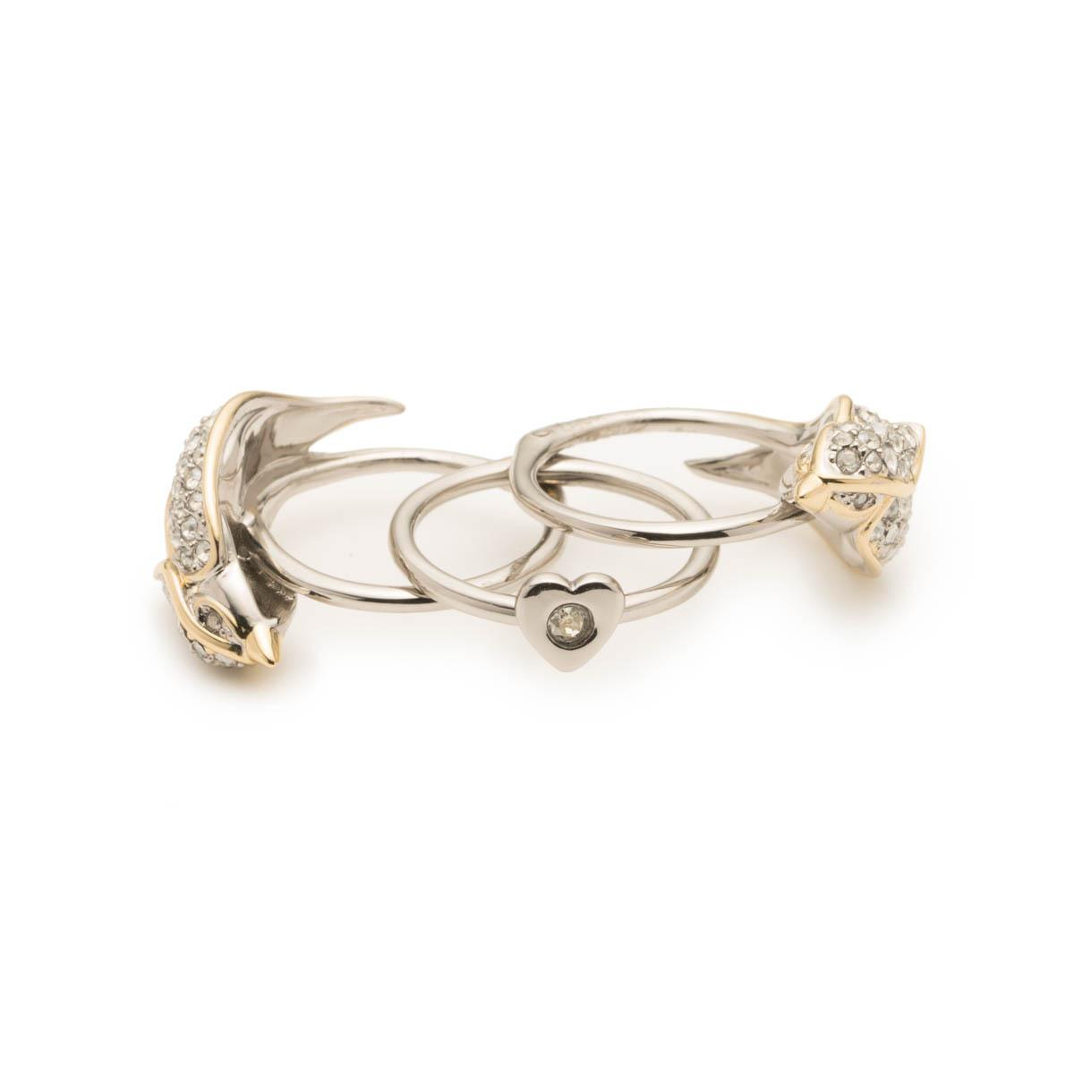 Alexis Bittar Crystal Encrusted Secret Lovebirds Ring 1kngnkJo