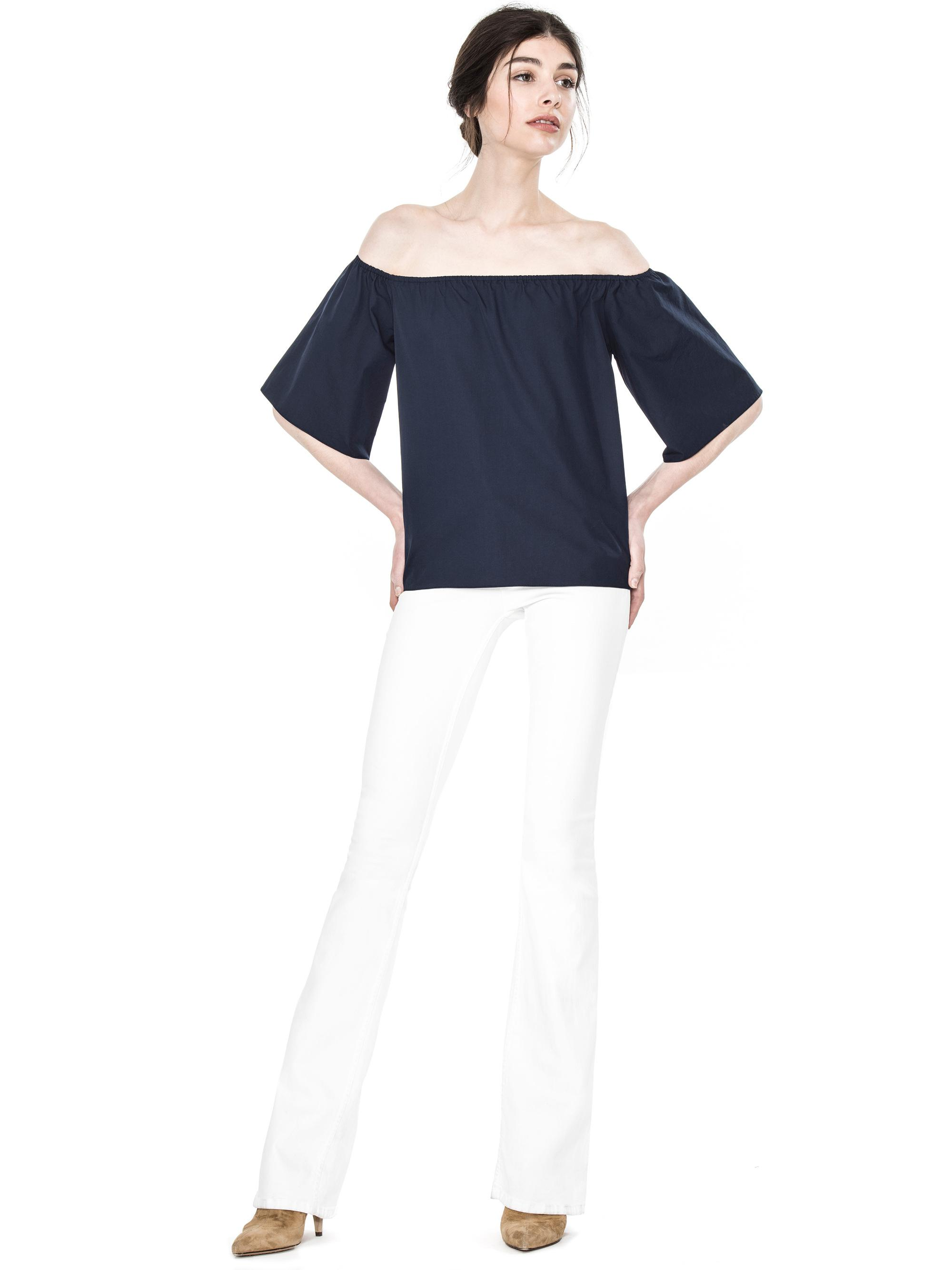 4eb3987fa24f6 Gallery. Previously sold at  Alice + Olivia · Women s Off Shoulder Ruffle  Tops ...