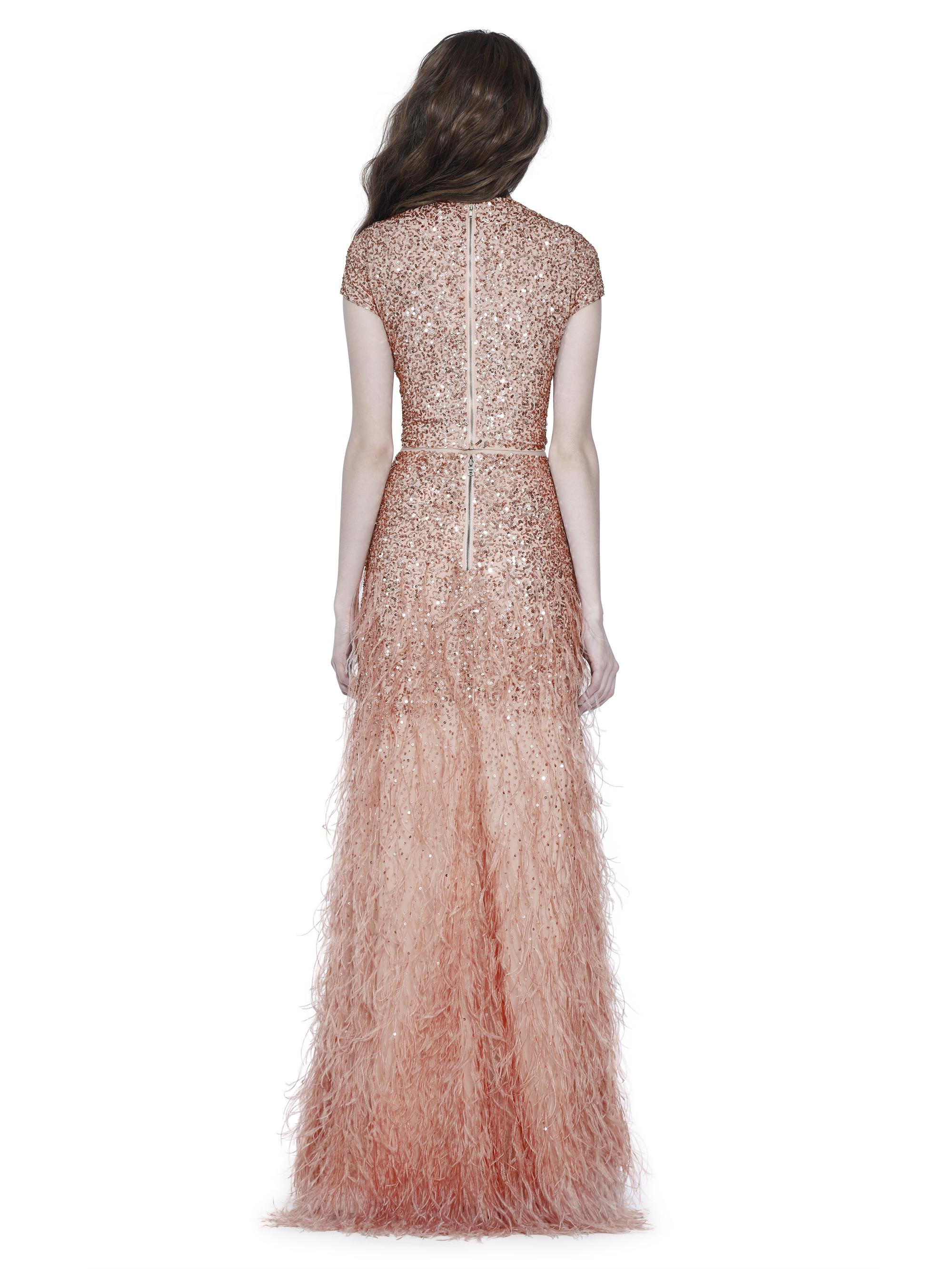 Lyst - Alice + Olivia Ashton Sequin Ball Gown Skirt in Pink