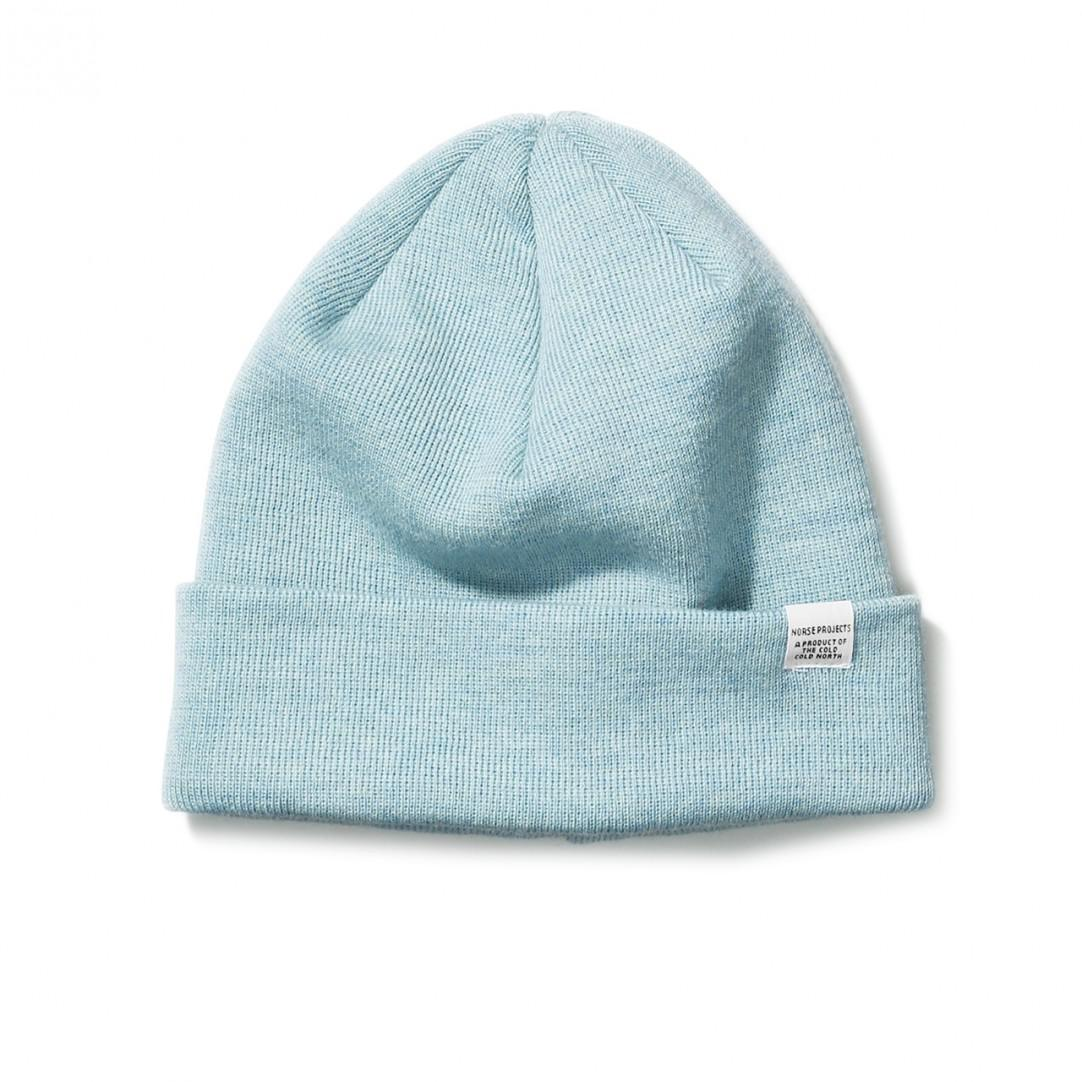 0f26c3819f7 Norse Projects Top Beanie in Green for Men - Lyst