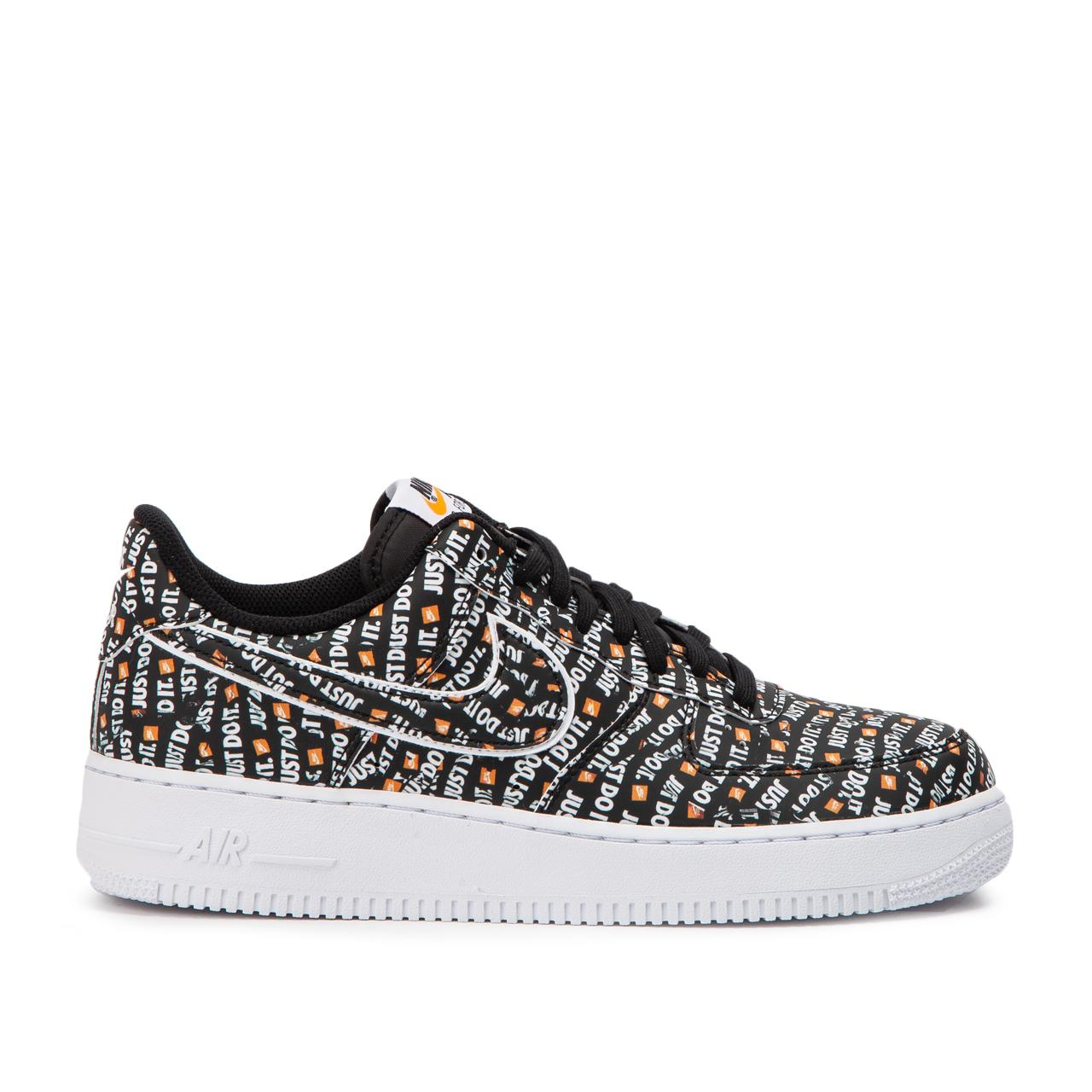 57f191c10c2d Nike Nike Air Force 1  07 Lv8 Jdi in Black for Men - Save 55% - Lyst