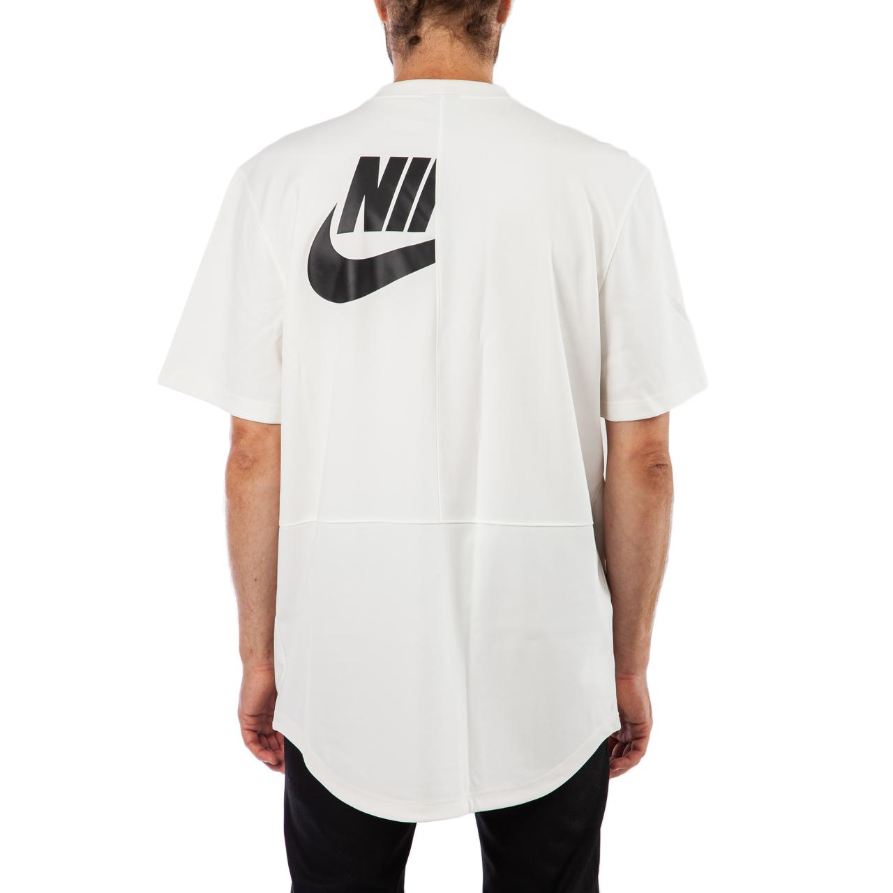 78bd1a0bfd03e3 Nike Nsw Top Taped Poly T-shirt in Natural for Men - Lyst