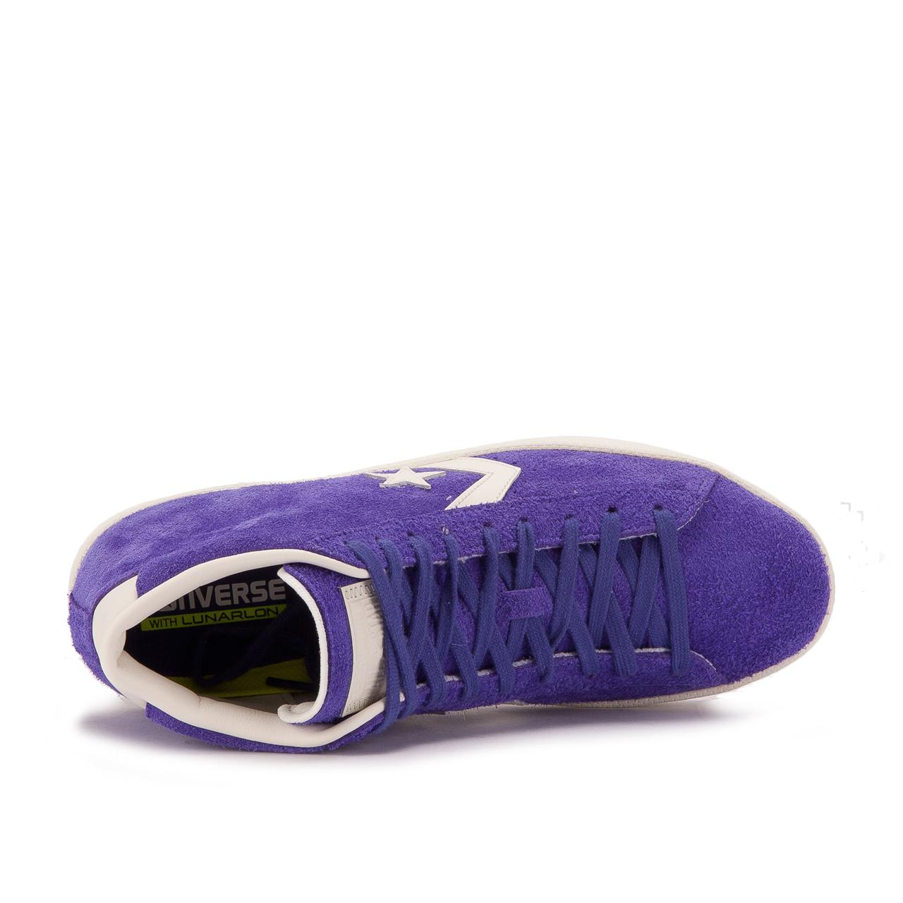 b764b846a581 Converse - Purple Cons Pro Leather 76 Mid
