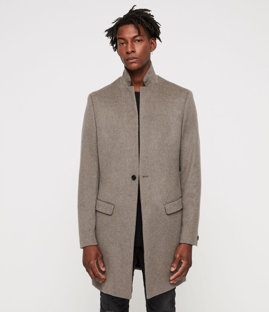 Allsaints Brown In Bodell Coat Men For Lyst AqrA8S