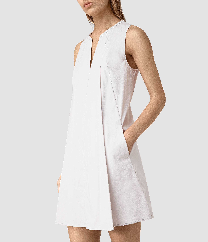 67f7e8212e3 Lyst - AllSaints Bea Dress in Black