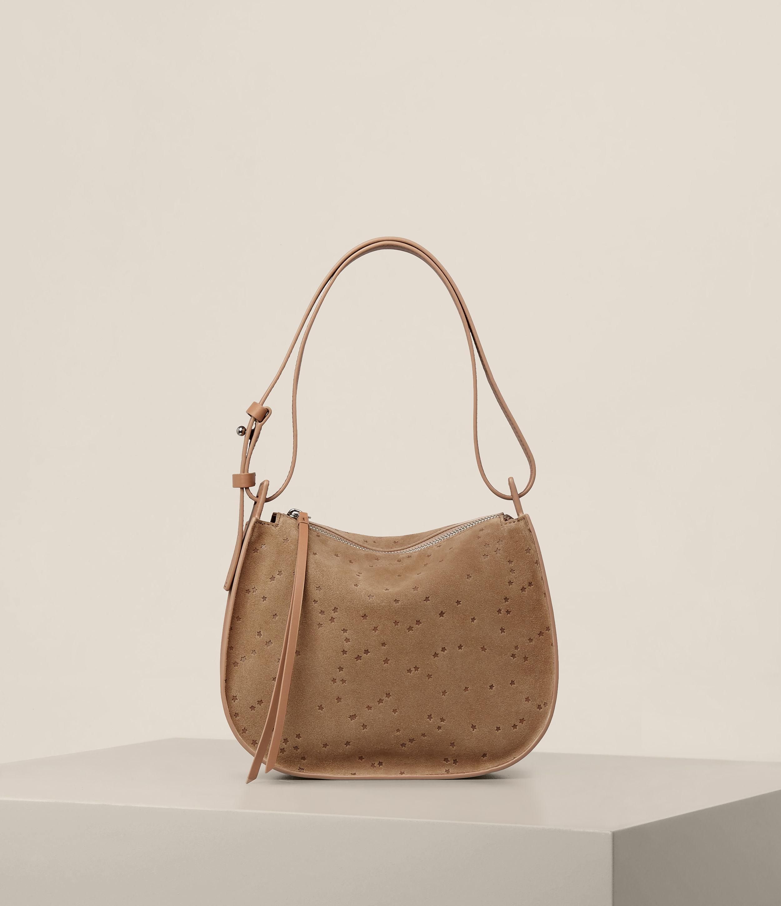 f9bc80defb6 AllSaints Echo Mini Hobo Bag - Lyst