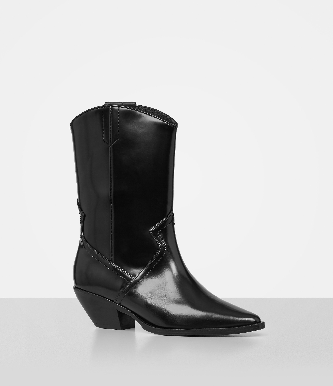 AllSaints DAKOTA - Cowboy/Biker boots - black ePnm2vmgH