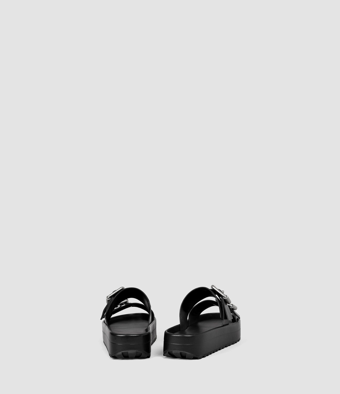 Lyst - Allsaints Kitchener Sandal in Black