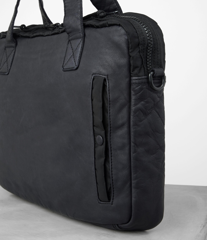 d004c85eb39f ... free shipping b3df1 fb45a Lyst - Allsaints Shoto Work Bag in Black for  Men ...