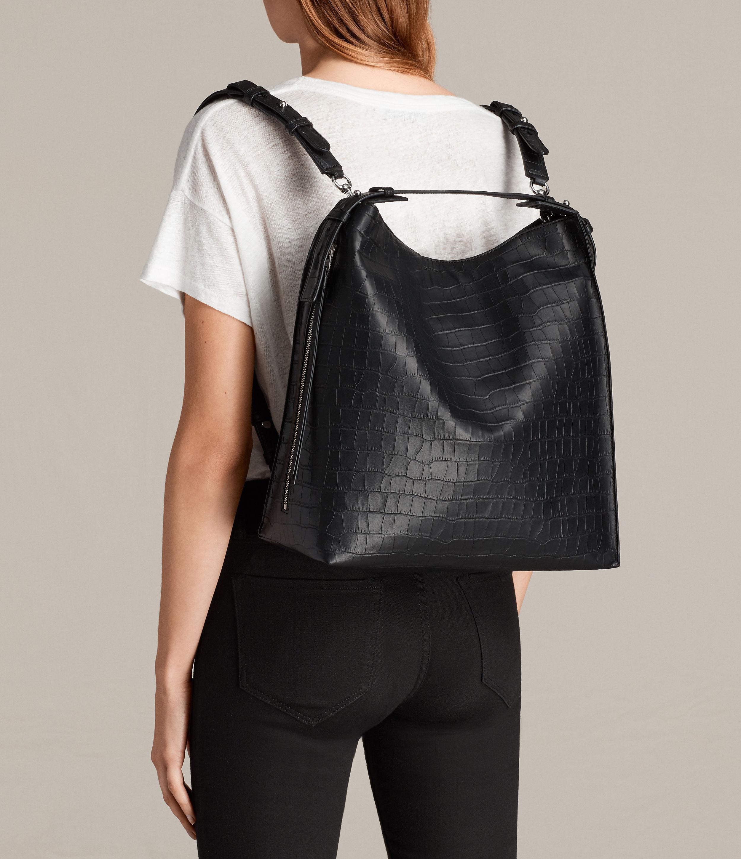 3fb539096d Lyst - AllSaints Atlas Backpack in Black