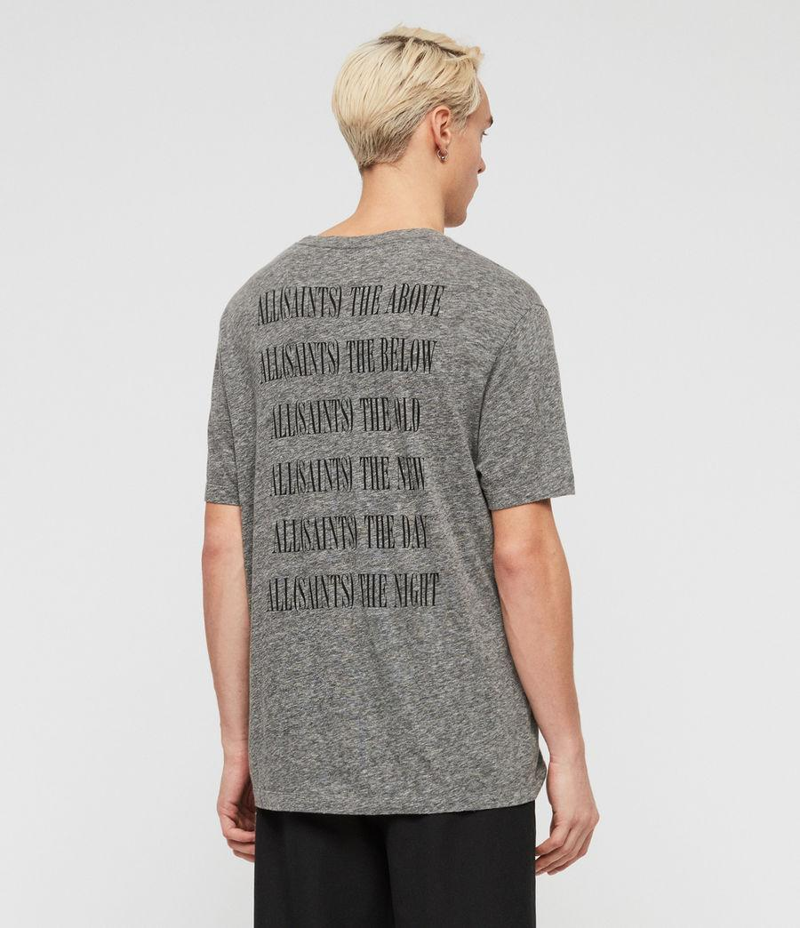 Brackets Allsaints For Gray Lyst T Men Crew Shirt In c3S5Rq4AjL