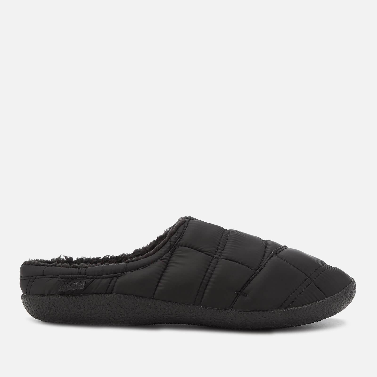 02691f01b4d1 Lyst - TOMS Berkeley Quilted Slippers in Black for Men - Save 9%