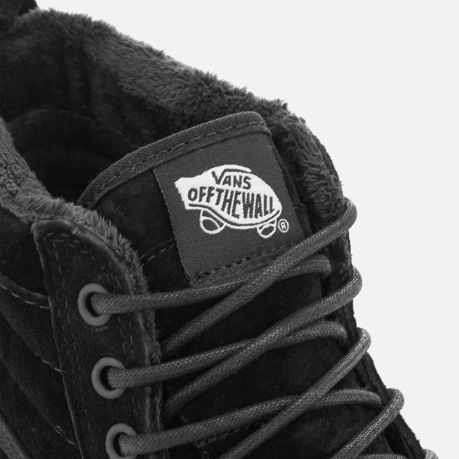 284251022b Lyst - Vans Men s Sk8hi Met Water Resistant Trainers in Black for Men