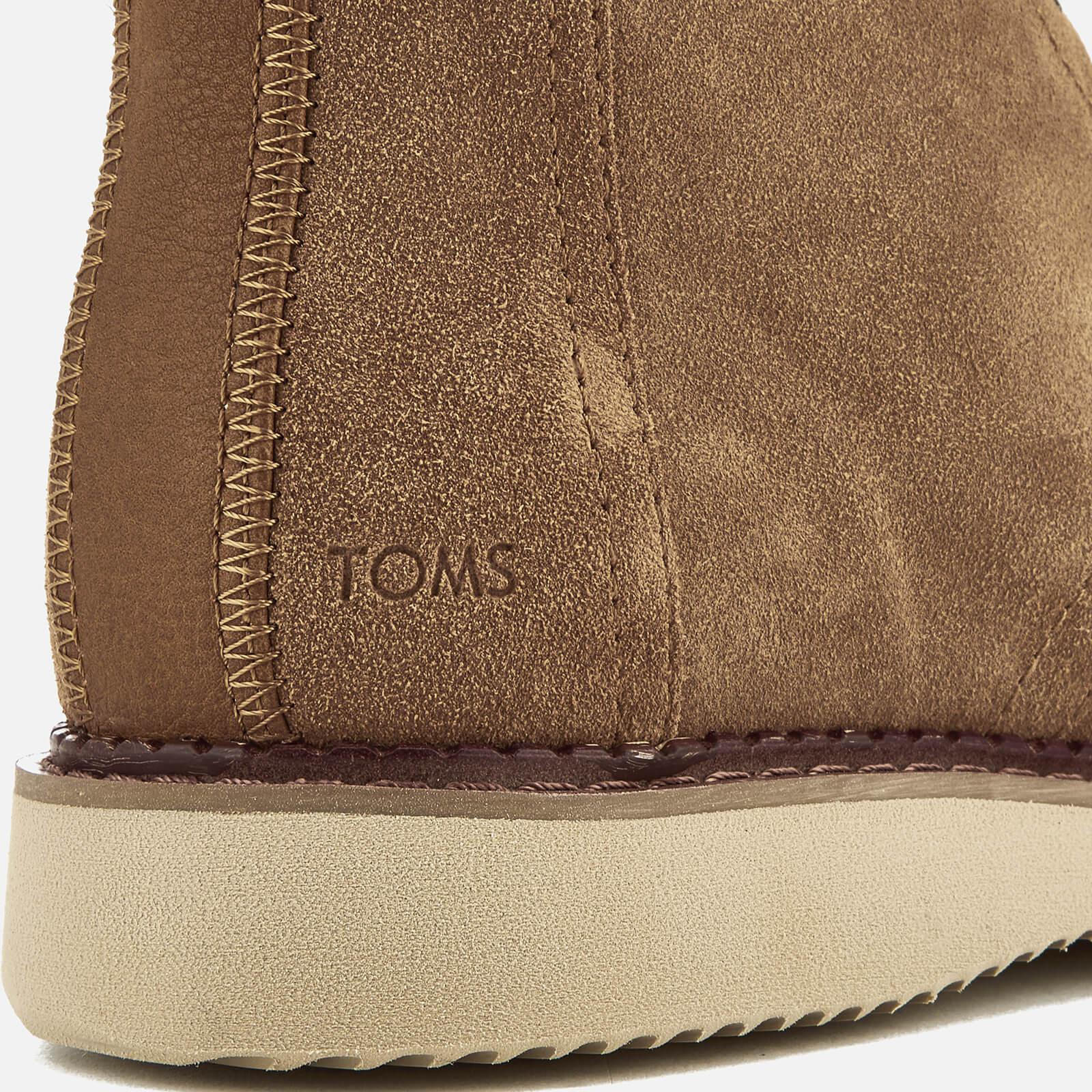 254cac84f2b TOMS - Brown Men s Porter Suede Lace Up Boots for Men - Lyst. View  fullscreen