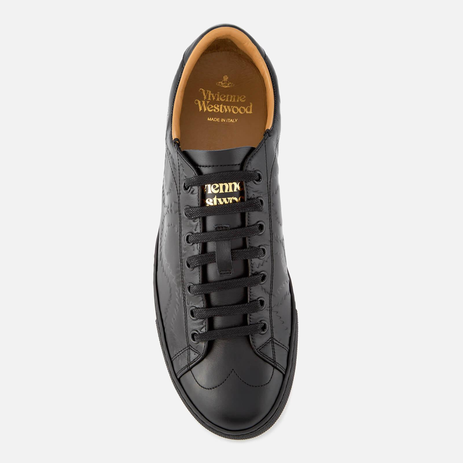 c6abc29c20558 Vivienne Westwood Men's Derby Leather Low Top Trainers in Black for ...