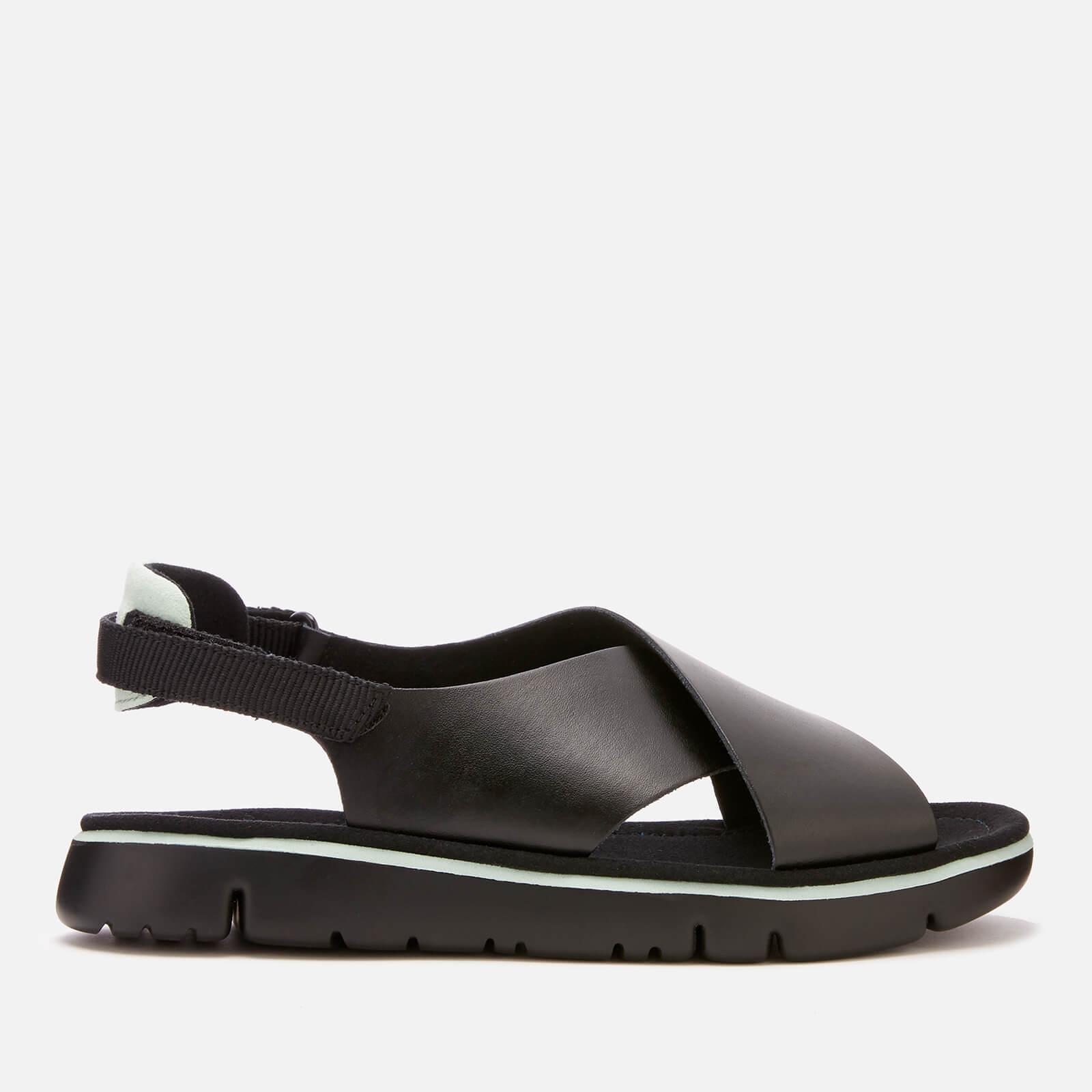 66454572ac91 Lyst - Camper Oruga Cross Front Sandals in Black