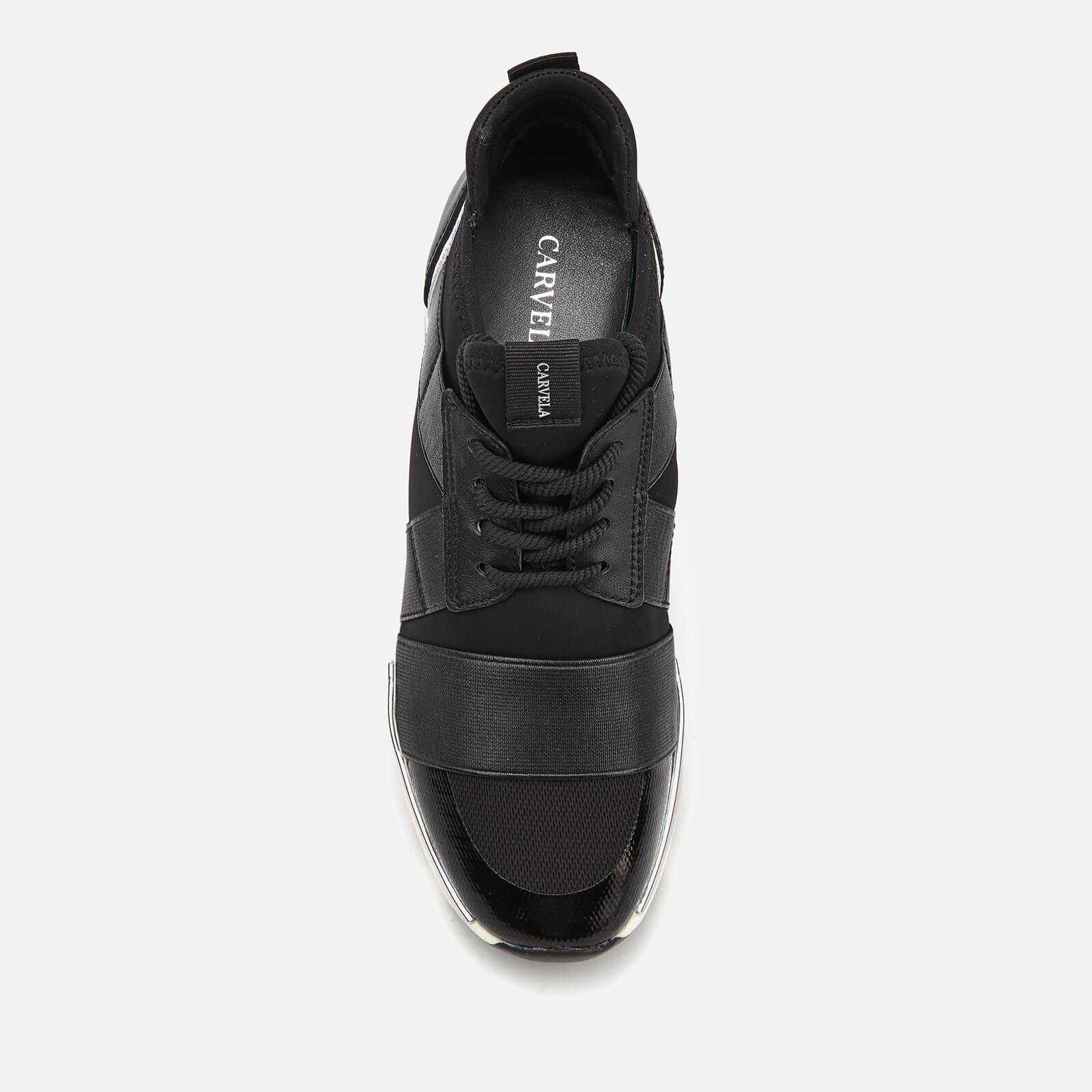 089285a7dcc Carvela Kurt Geiger - Black Lauryn Runner Style Trainers - Lyst. View  fullscreen