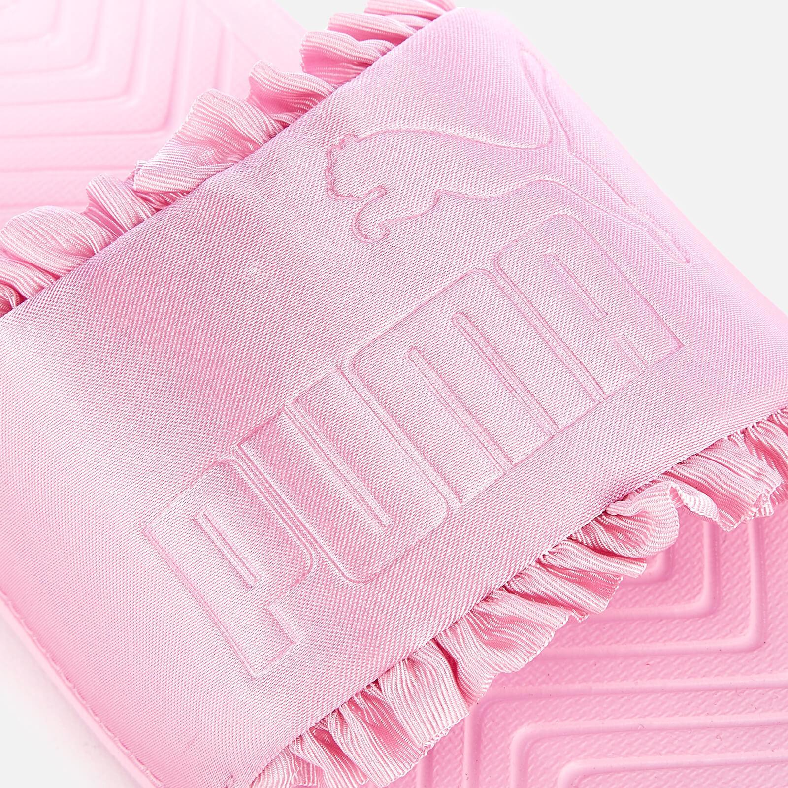 f1108e4c6e PUMA Popcat Silk Slide Sandals in Pink - Lyst