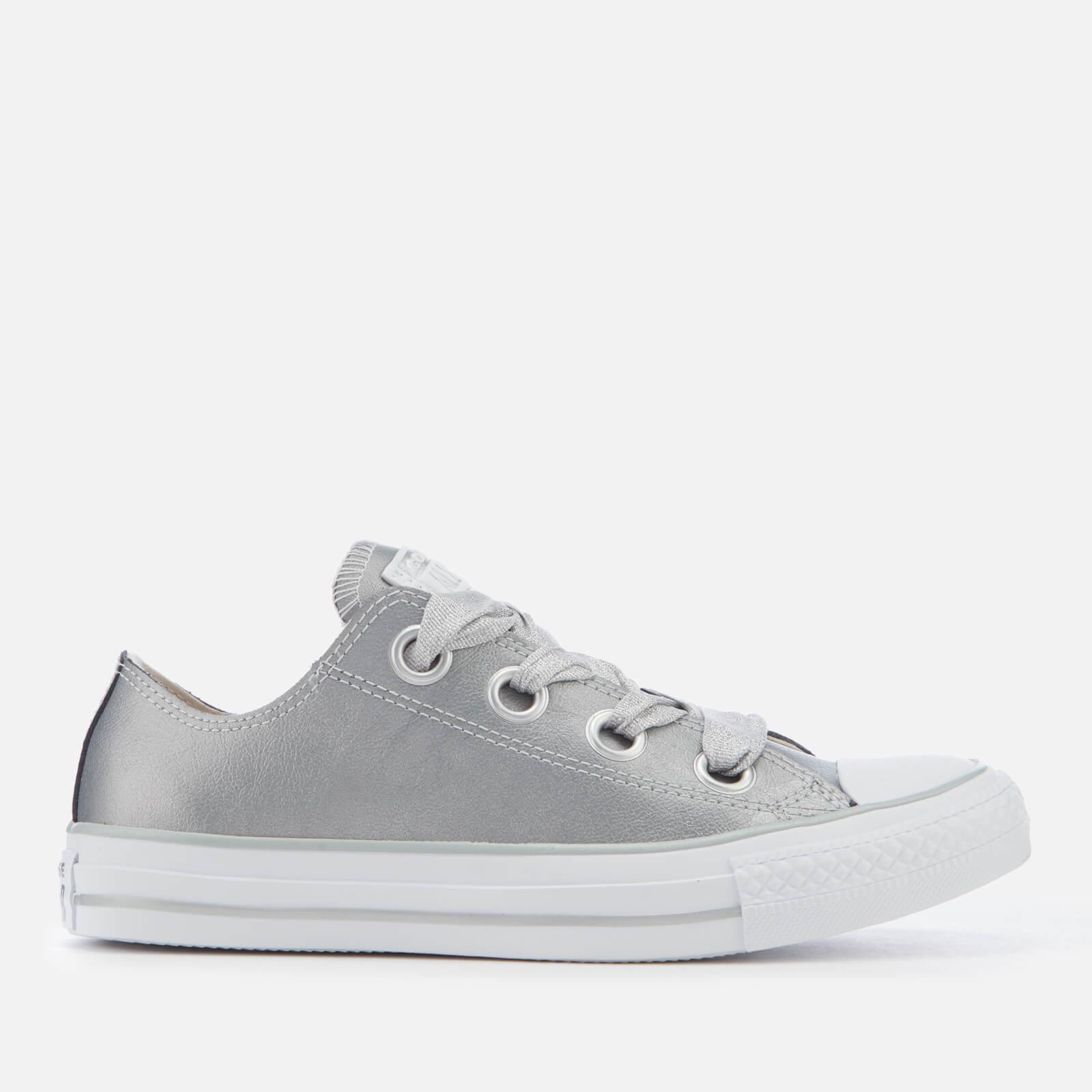 af1feb61d1bc62 Converse. Women s Metallic Chuck Taylor All Star Big Eyelets Ox Trainers