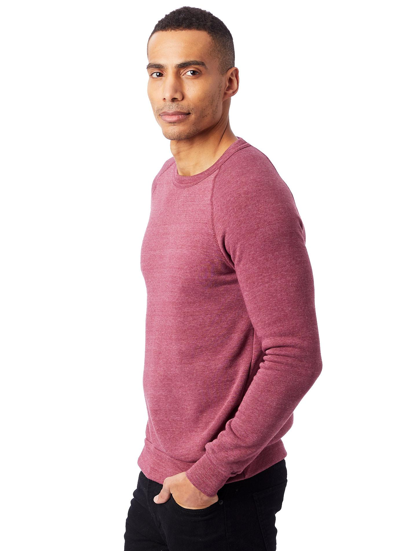 2683ec3930ef Lyst - Alternative Apparel Champ Eco-fleece Sweatshirt in Purple for Men
