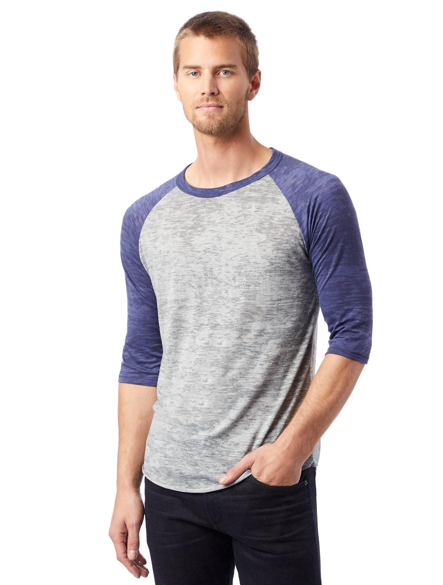 d5e0d323 Lyst - Alternative Apparel Big League Burnout Baseball T-shirt in ...