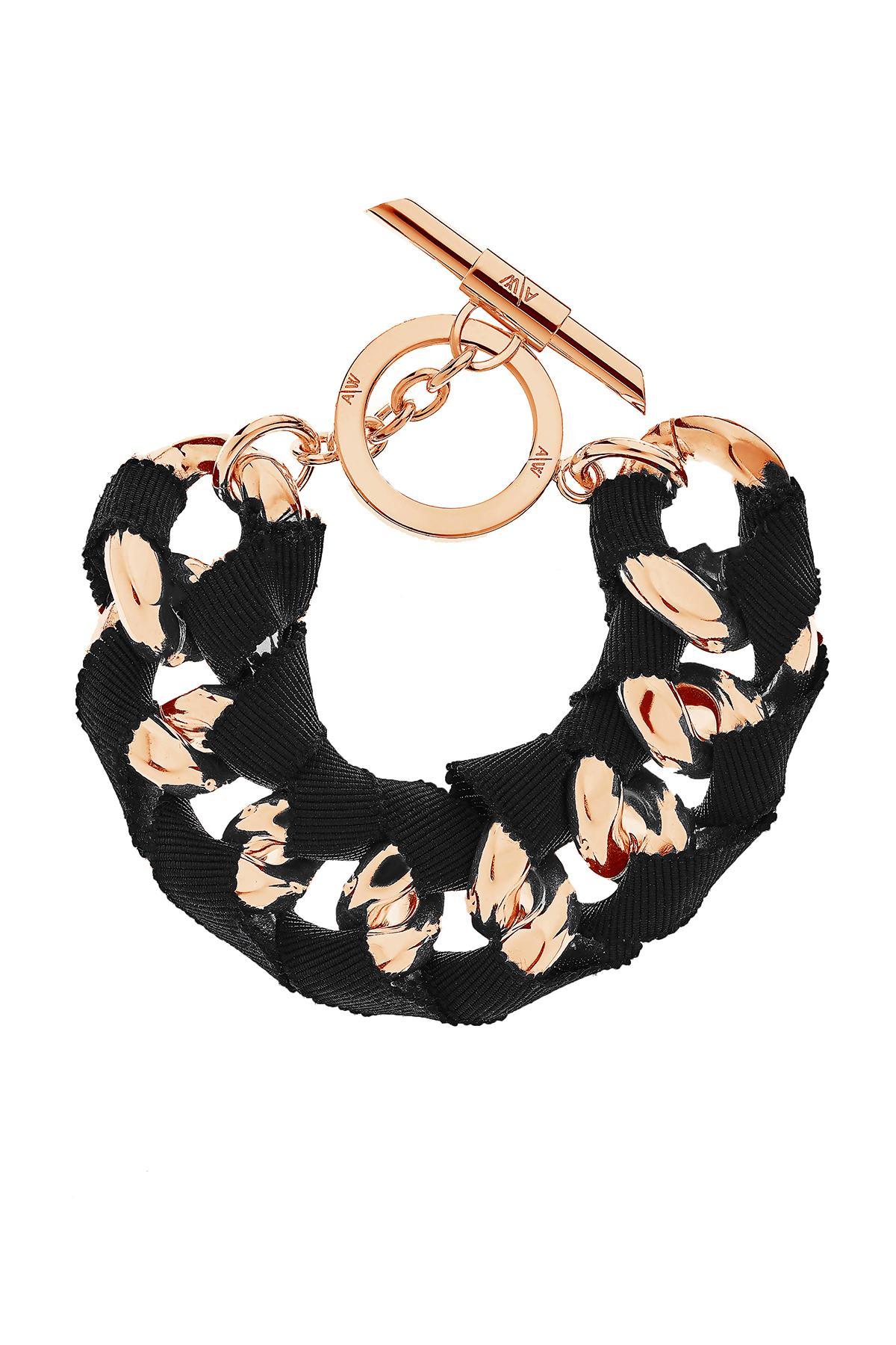 Amanda Wakeley Chunky Gold Bracelet 64Cd5GC