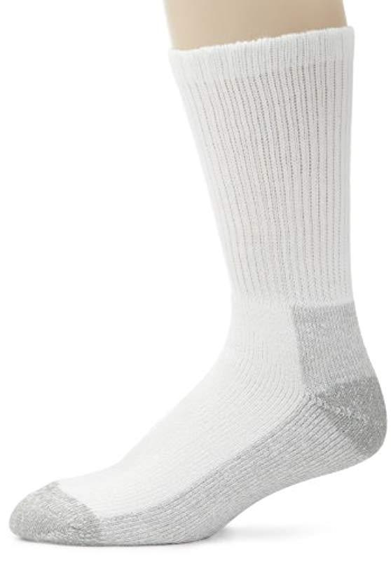 3f6ae4bfc Lyst - Dickies 2 Pack Steel Toe Crew Socks in White for Men