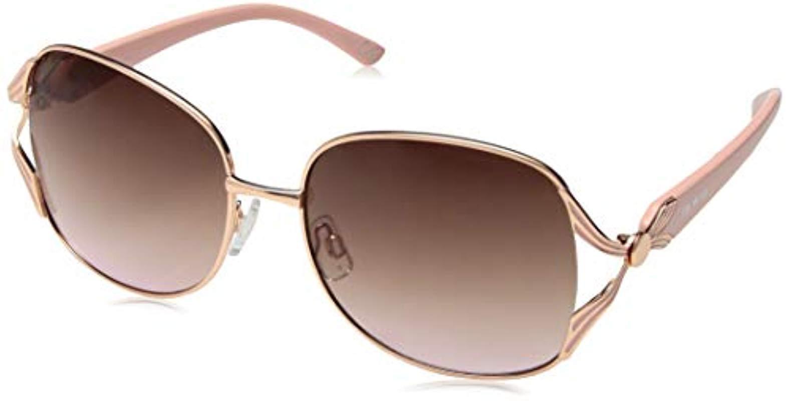 944831031ed Steve Madden. Women s Pink Sm495123 Round Sunglasses Rose Gold